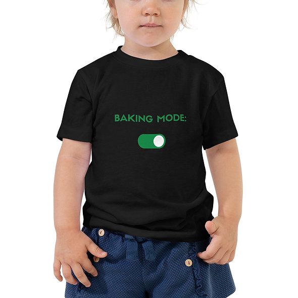Toddler Baking Mode: On Tee