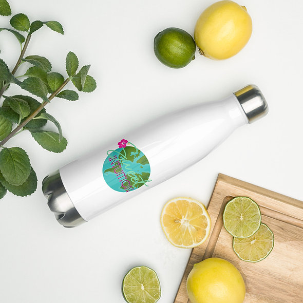 Sweet Intuition World Stainless Steel Water Bottle