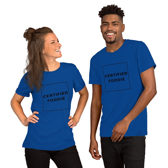 Certified Foodie Unisex T-Shirt