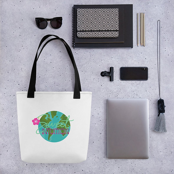 Sweet Intuition Wrld Tote bag