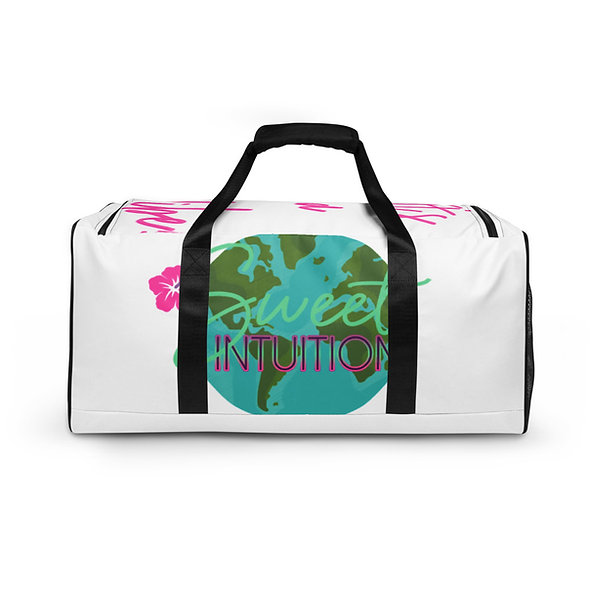All-Over  Sweet intuition World Print Duffle Bag