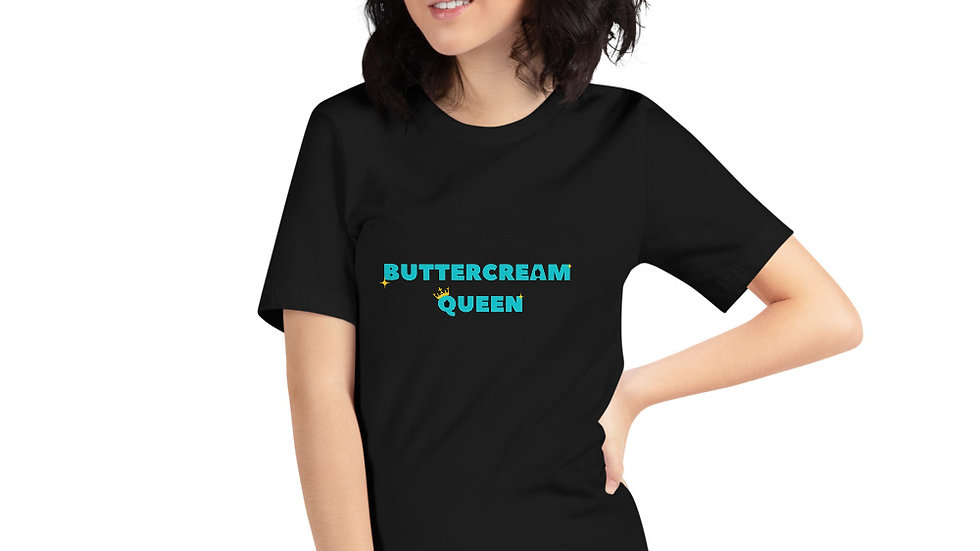 Unisex Buttercream Queen T-Shirt
