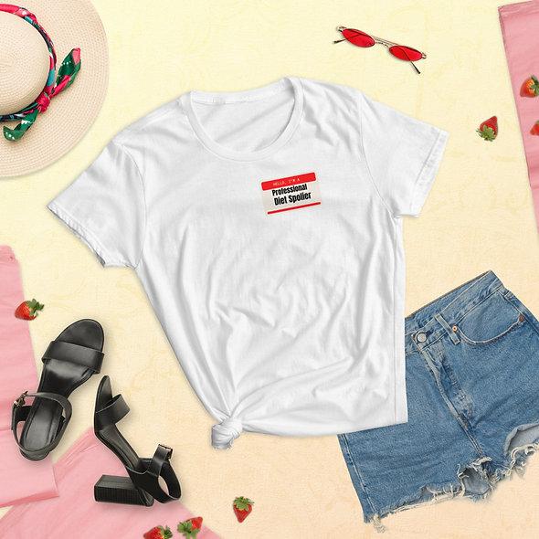 Women's Pro. diet spoiler t-shirt