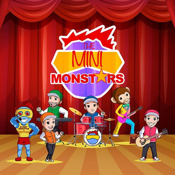 The Mini Monstars Album Cover FOR PRINT.