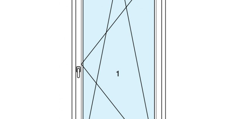 Light alu 76 finestra 1 anta