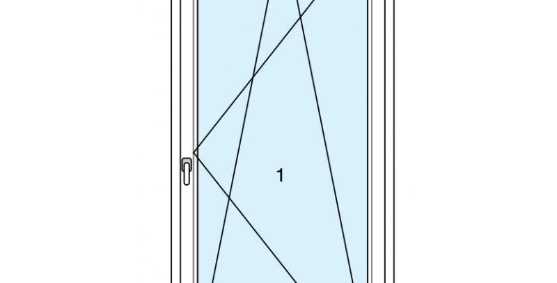 Dynamic 70 finestra 1 anta