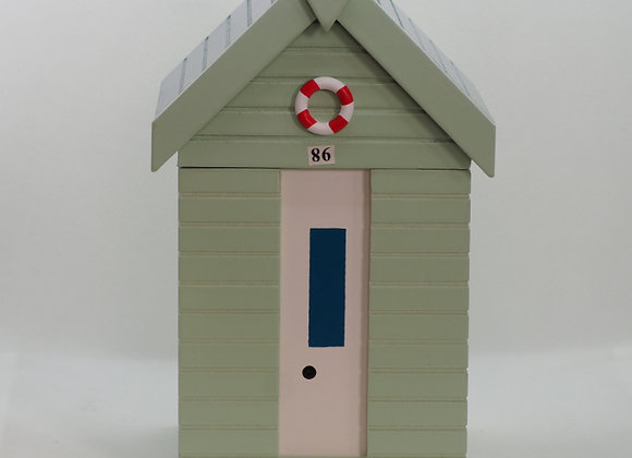Beach Hut Storage Box
