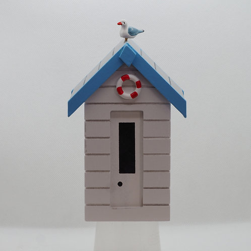 Beach Hut Money Box