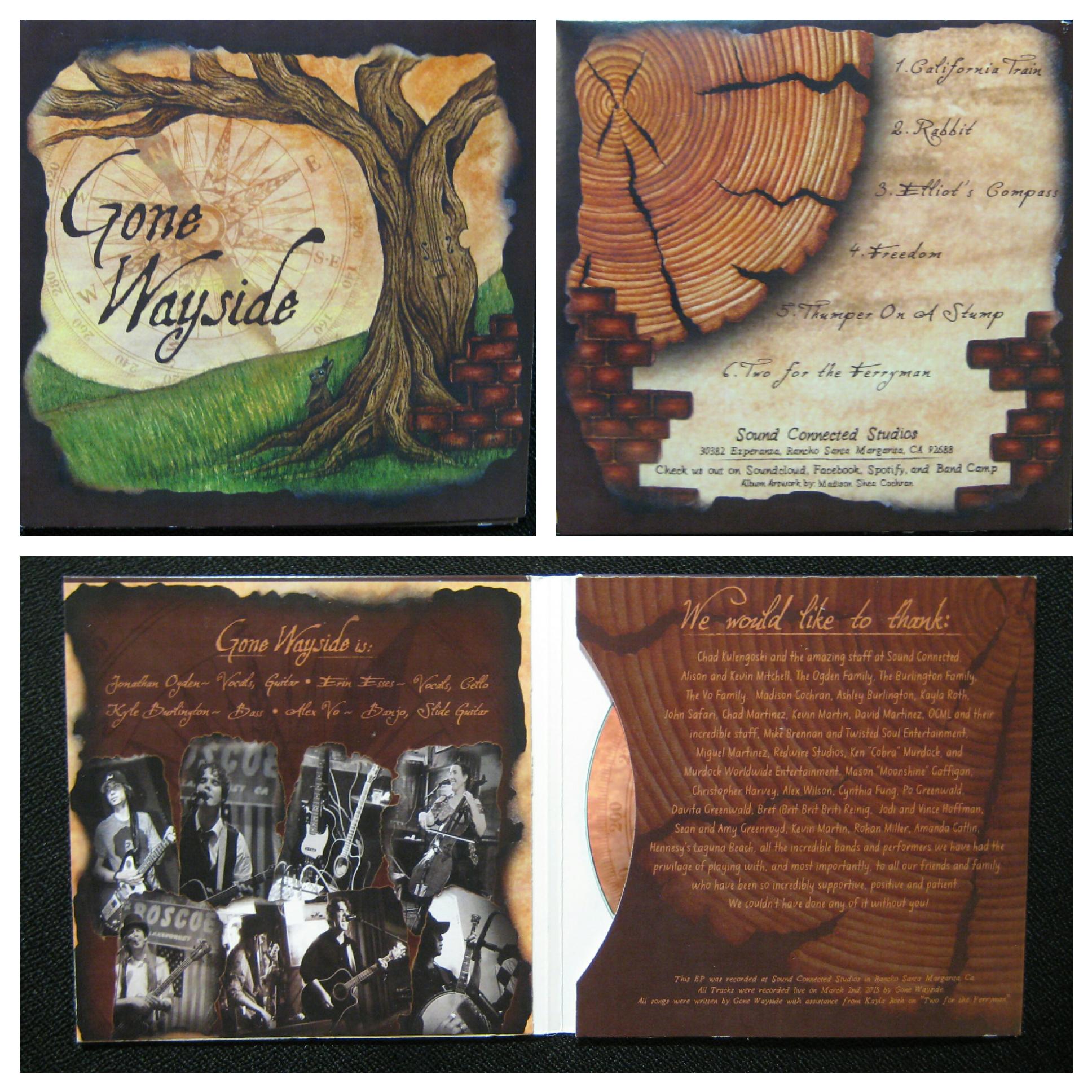 Album artwork for Gone wayside