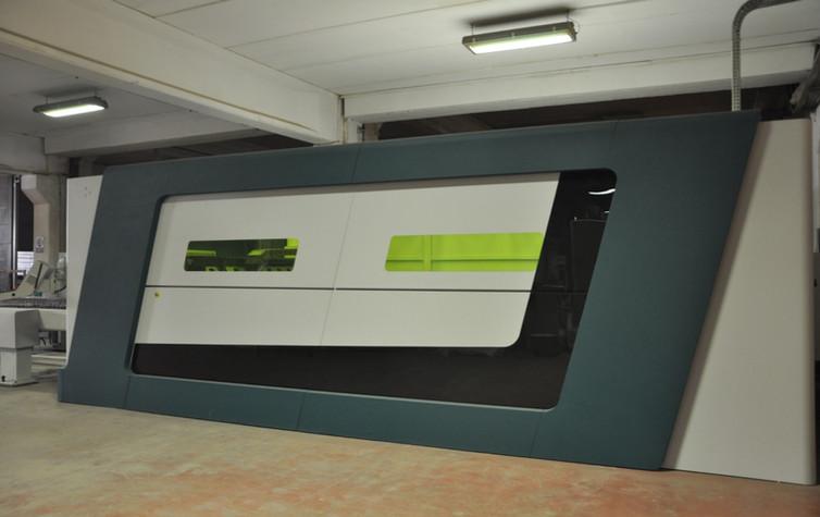 Lazer ve Endüstriyel Makine Giydirme Teknolojileri