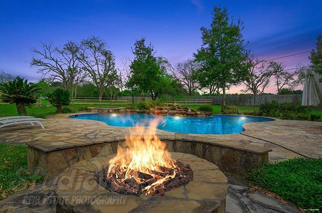 Cool #firepit in #richmondtx _#houston #