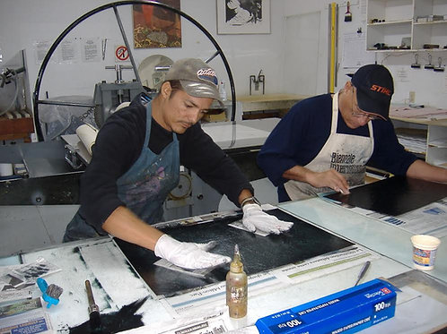 Printmaking with Ernesto Blanco