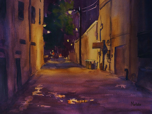 Night Scenes and Rainy Days with Suzanne Natzke -Online Only via Zoom