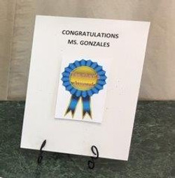 Special Awards 4 - ART TEACHER'S AWARD