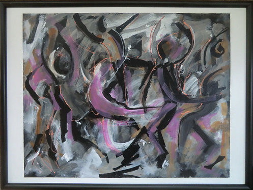 Dance Abstraction - $150