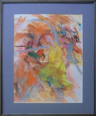 Dancer in Yellow Dress - $175