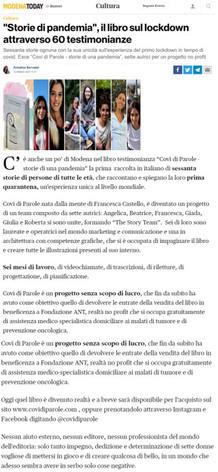 15 marzo 2020 - Modena Today