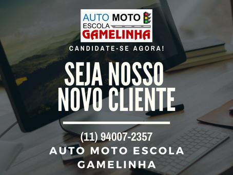 Auto Moto Escola Gamelinha lhe faz um convite