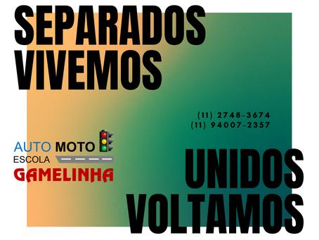 Auto Moto Escola Gamelinha, a seu dispor!