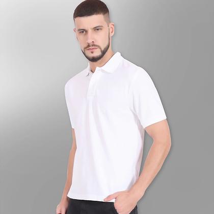 Plain White Polo Tees