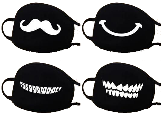 Cotton Masks Pack of 4-(Random selection)+Free Shipping