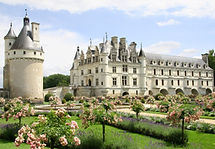 Chenonceau on the Cher -Loire-cycling.jp