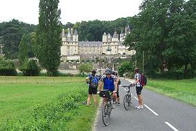 Loire Château d'Ussé cycling