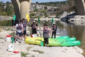 Kayaking on the Gard River with The Active Gourmet Travel