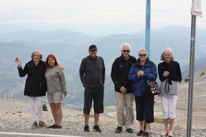 Feeling the breeze on top of Mont Ventoux with The Active Gourmet Travel