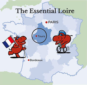 Loire Tour Map