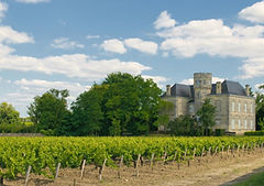 Chateau and vineyard in Margaux, Bordeau