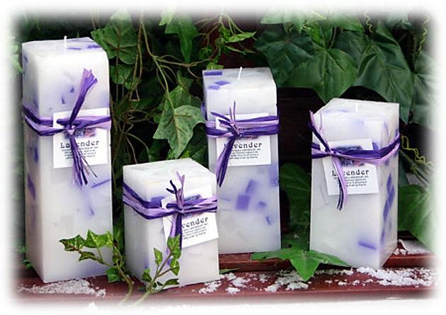 lavender ilmkerti