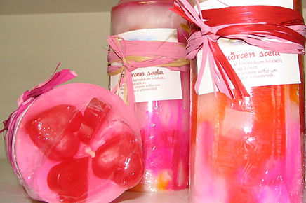 scent of summer , Candle