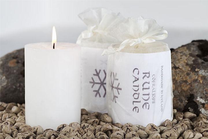 rúnakerti - rune candle