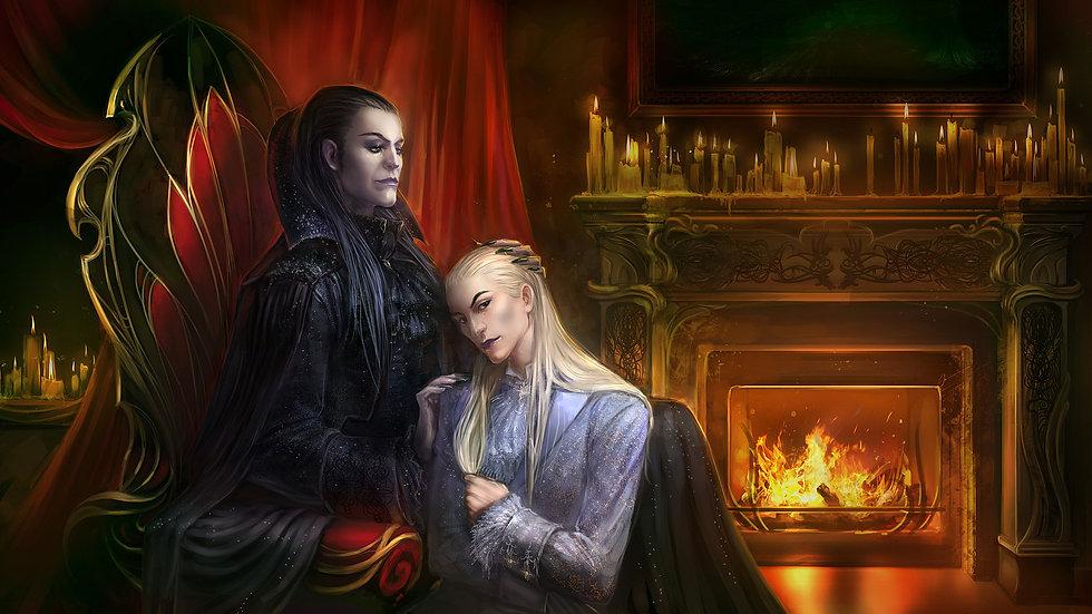 Sanguine & Psy Vampire Pair - Entities