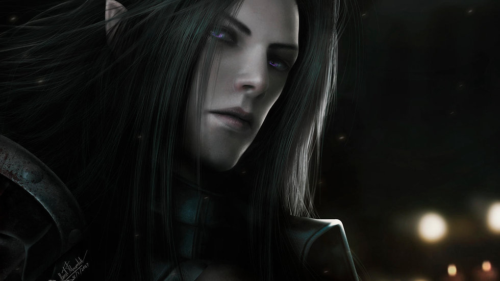 Vampire Dark High Elf - Spirit
