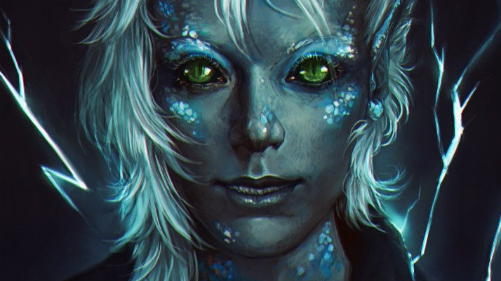 Ancient Draconic Elf - Entity