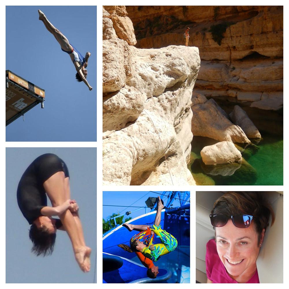 Ginger Huber, Professional High Diver, Infinitum Health, LLC sponsored athlete