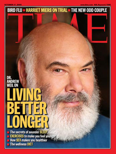 Andrew Weil (cover of TIME)