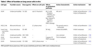 fucoidan and lung cancer