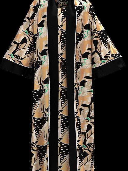 Lela Oversized Print Kimono
