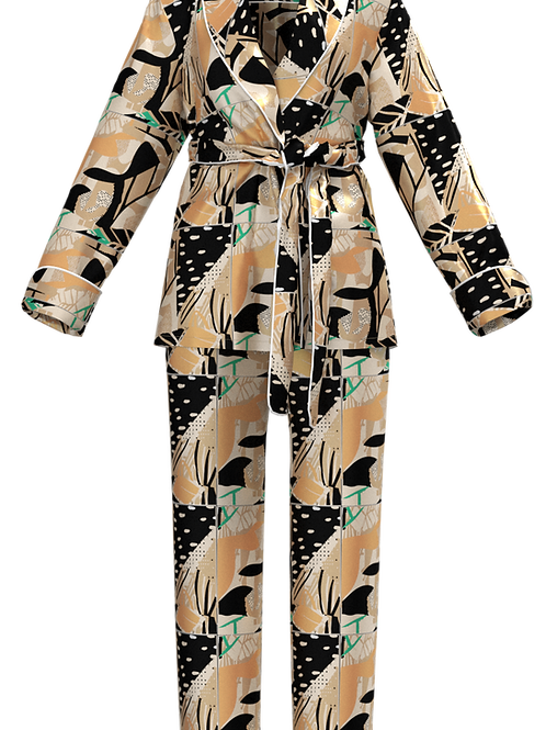 Ayanna Tie Pyjama