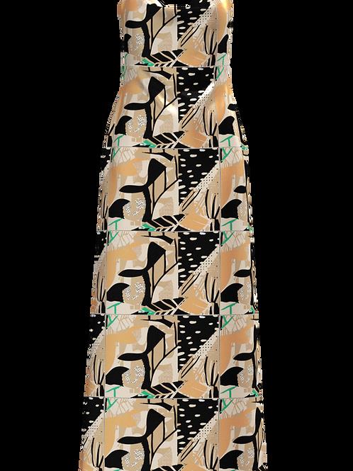 Alika Cowl Neck Cami Dress