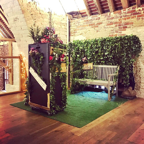 Rustic Photo Booth Hampshire