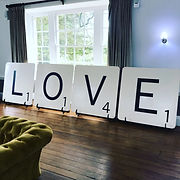 Holbrook manor giant letter hire