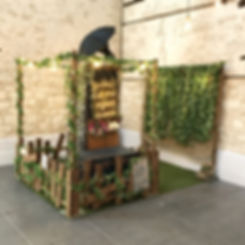 Rustic Garden Photo Booth