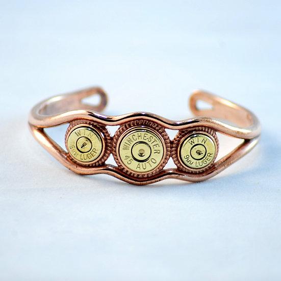 Copper Triple Threat Bracelet