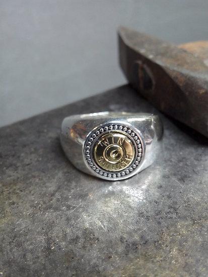 Mens beaded ring