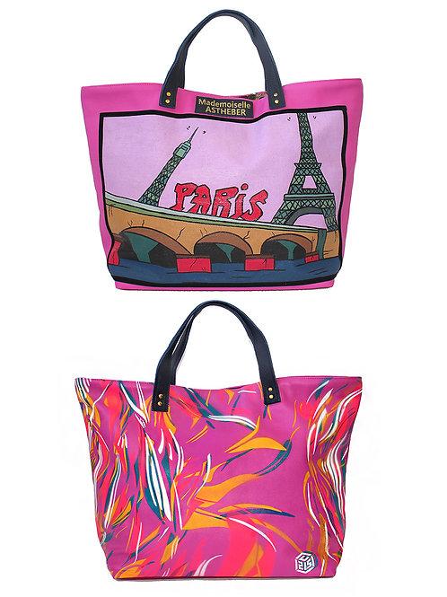 """Sac artistique """"Paris"""" by C215"""