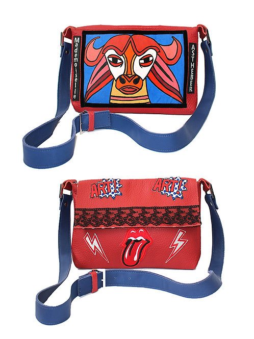 "Sac artistique ""Rock and roll"""